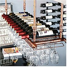 Wine Rack - Retro Weinregal Mode Wein Glas Flasche
