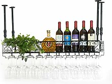 Wine Rack - Schmiedeeisen-hängender Becher