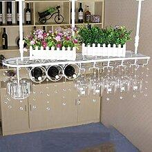 Wine Rack - Schmiedeeisen-Weinregal, Doppelte