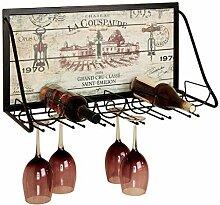 Wine Rack - Wand-Weinregal Kreative Hängende