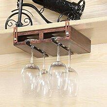 Wine Rack - Weinregal Aus Massivem Holz Für Den