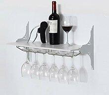 Wine Rack - Weinregal Haushalt Holz Weinglas
