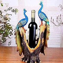 Wine Rack - Weinregal Pfau Rotwein Wein Tablett