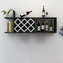 Wine Rack - Weinregal Wand Weinschrank Holz