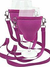 WineHolder - Weinglas-Halter für Den Hals,