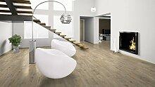 WINEO Windmöller Pureline 1000 wood Ascona Pine Nature Bio-Klick-Designboden - ökologischer Bodenbelag in Holzdielenoptik zum Klicken - Paket a 2,02m²