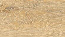 WINEO Windmöller Purline 1000 wood Island Oak Honey Bio-Klick-Designboden - ökologischer Bodenbelag in Holzdielenoptik zum Klicken - Paket a 2,02m²
