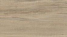 WINEO Windmöller Purline 1000 wood Patina Teak Bio-Klick-Designboden - ökologischer Bodenbelag in Holzdielenoptik zum Klicken - Paket a 2,02m²