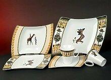 Wing Afrika Style Dekor Kombi Service 30 teilig