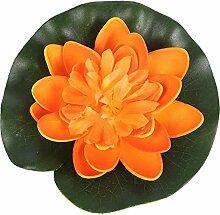 Wingbind 5 STÜCKE Künstliche Lotusblumen, Real