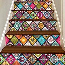Wingbind Treppen Aufkleber, 3D Marokko