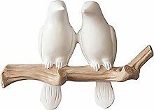 WINGOFFLY Kleiderbügel mit Vogel-Motiv auf Baum,