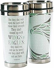 Wings as Eagles Isaiah 40:31 16 oz. Stainless
