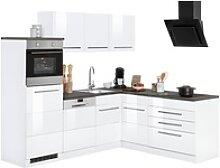 Winkelküche Trient, mit E-Geräten, Stellbreite