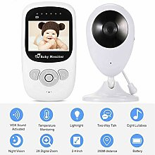 Winnes Baby Monitor Babyphone Video mit