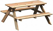 WINNETOO Kindersitzgruppe/Picknicktisch Lärche