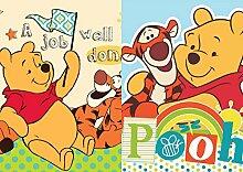 Winnie Pooh 2er Set KINDER Waschlappen Waschfleck