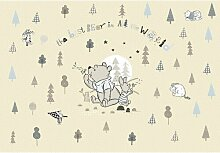 Winnie Pooh Bester Bär 2,54m x 368cm Wandbild