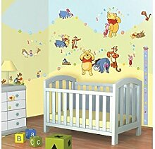 Winnie the Pooh - Disney© - Wandsticker - Walltastic© (Wandsticker Wanddekoration Wohndeko Wohnzimmer Kinderzimmer Schlafzimmer Wand Aufkleber)
