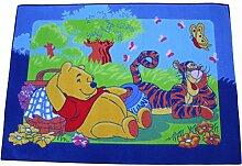Winnie the Pooh Kinderteppich 133 x 95 cm Teppich Spielteppich Disney Puuh Bär