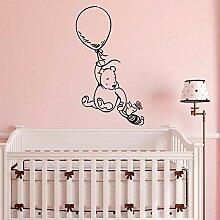 Winnie The Pooh Wandaufkleber für Kinderzimmer