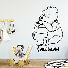 Winnie The Pooh Wandtattoo Aufkleber Cartoon