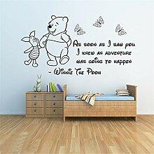 Winnie The Pooh Wandtattoo Aufkleber Freunde