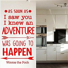 Winnie The Pooh Wandtattoo Aufkleber Wandstöcke