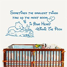Winnie The Pooh Wandtattoo Aufkleber Zitat