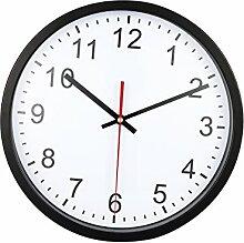 WINOMO 12 Zoll Wanduhr mit lautlosem Uhrwerk für