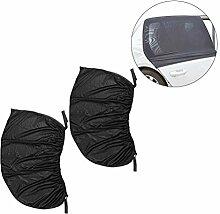 WINOMO 2PCS Auto-Seitenfenster SunShade Selbst Sonnenschutz-Schutz Ausdehnbares Ineinander greifen für schützen Baby vom Sun