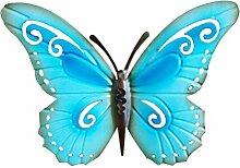 WINOMO Antikes Metall Schmetterling Wand Dekor