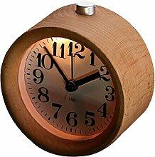 WINOMO Hölzerne Stille Uhr Schreibtisch