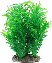 WINOMO Künstliche Kunststoff Grün Gras Wasser