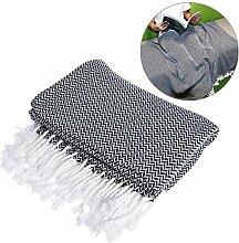 WINOMO Überwurf Decke leicht Baumwolle Sofa