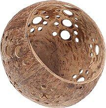 WINOMO Votiv Kerzenhalter Coconut Shell Schüssel
