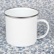 Winpavo Becher Kaffeetassen Tassen Emailtassen