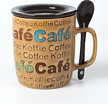 Winpavo Becher Kaffeetassen Tassen Kreative Große