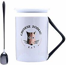 Winpavo Becher Kaffeetassen Tassen Rechtwinklige