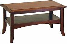 Winsome Holz Craftsman Couchtisch, Nussbaum Antik