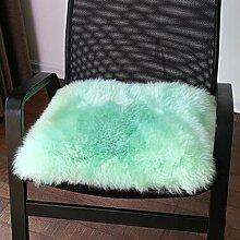Winter-dickere Kissen, warme Sofa-Kissen, schwimmende Fenster-Auflage, Kissen, Auto-Kissen ( farbe : A4 , größe : 45x45cm )