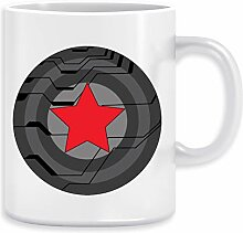 Winter Soldat Schild Kaffeebecher Becher Tassen