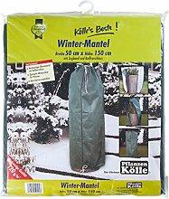 Winterschutz Winter-Mantel 120 g, ca. 50x150 cm - aus hochwertigem Vlies - mit Zugband und Reißverschluss - Kölle's Beste