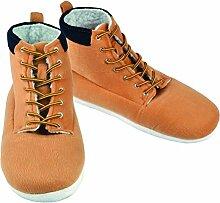 Winterstiefel Hausschuhe für Männer - Bauarbeiter Stiefel Pantoffeln Arbeitsschuhe Slipper Winter im Paar