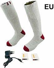 Wintesty Beheizbare Socken Fusswärmer für Damen