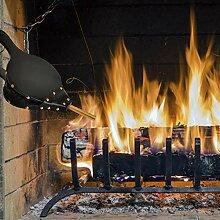 Wintesty Holzkohlengrill Grill Gebläse BBQ Fan