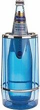 Winware Wein Flaschenkühler–blau Tint Acryl