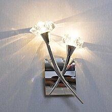 WINZSC Moderne Flur Kristall Wandleuchte