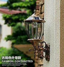 WINZSC Outdoor Light Solar Wandleuchte LED Outdoor