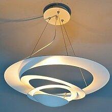 WINZSC Ring LED pendelleuchten Mode Schlafzimmer